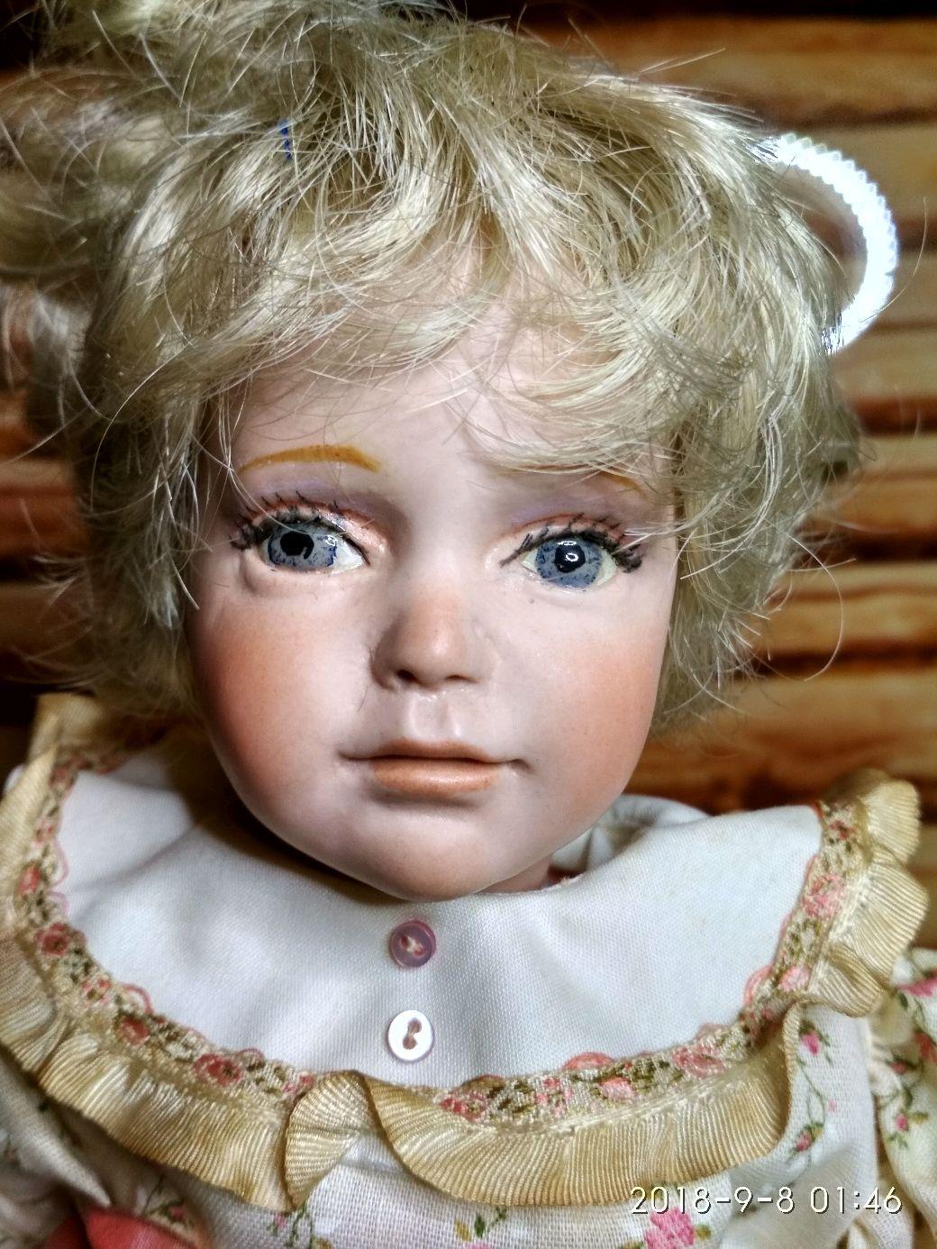 Винтаж: Винтажная фарфоровая кукла Джуди от Phyllis Wright, Куклы винтажные, Воронеж,  Фото №1