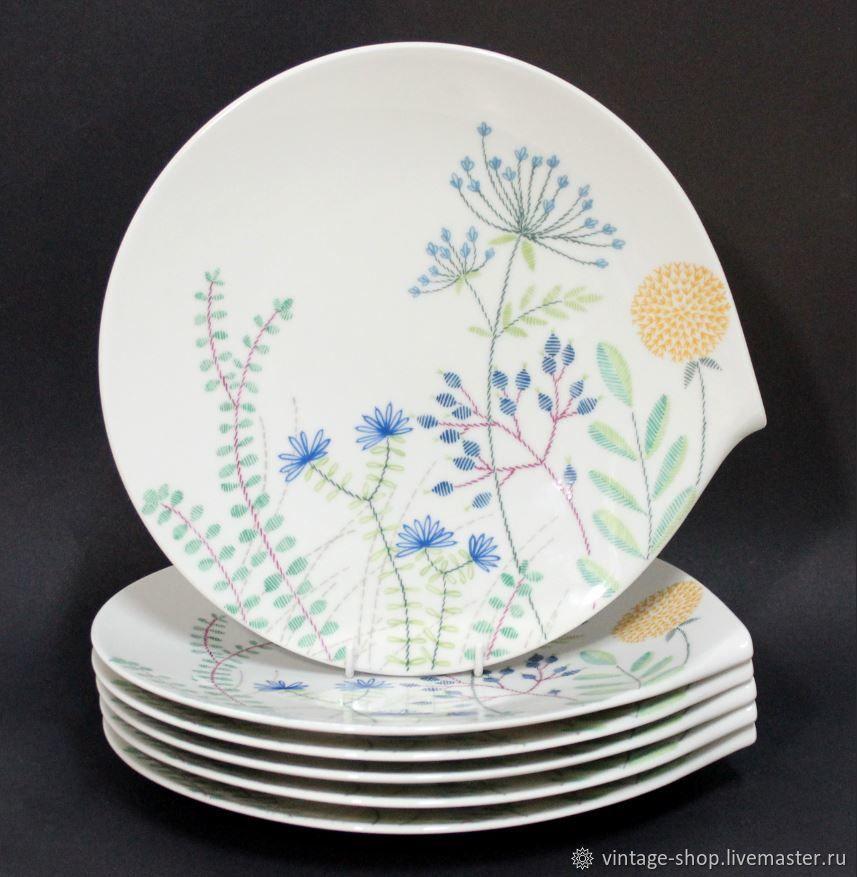 Винтаж: Villeroy & Boch большие тарелки/блюда  Flow Couture, Тарелки винтажные, Франкфурт-на-Майне,  Фото №1