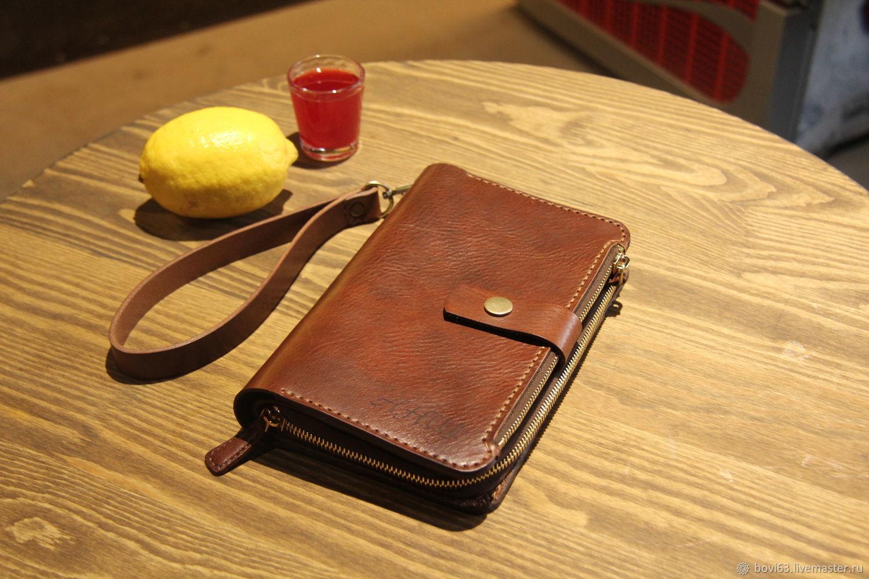 669c3b74bb00 Мужской клатч. Мужские сумки ручной работы. Ярмарка Мастеров - ручная работа.  Купить 'Borsetta'.