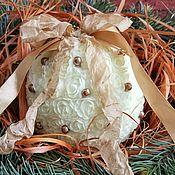 Подарки к праздникам ручной работы. Ярмарка Мастеров - ручная работа Шары новогодние, ёлочные шары, винтажный стиль, Новый год 2018, ёлка,. Handmade.