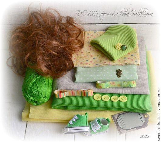 Куклы и игрушки ручной работы. Ярмарка Мастеров - ручная работа. Купить Наборы для самостоятельного пошива куколки 1. Handmade. Разноцветный