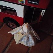 Куклы и игрушки ручной работы. Ярмарка Мастеров - ручная работа зайка путешественница. Handmade.