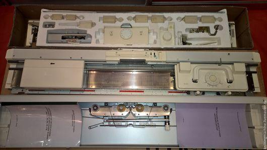 Вязание ручной работы. Ярмарка Мастеров - ручная работа. Купить Silver Reed SK280/SRP60N. Handmade. Белый, перфокарточныемашины, вязание