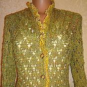 """Одежда ручной работы. Ярмарка Мастеров - ручная работа Кардиган """"осень золотая"""". Handmade."""