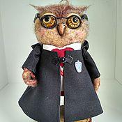Куклы и игрушки ручной работы. Ярмарка Мастеров - ручная работа Сова Гарри Поттер. Handmade.