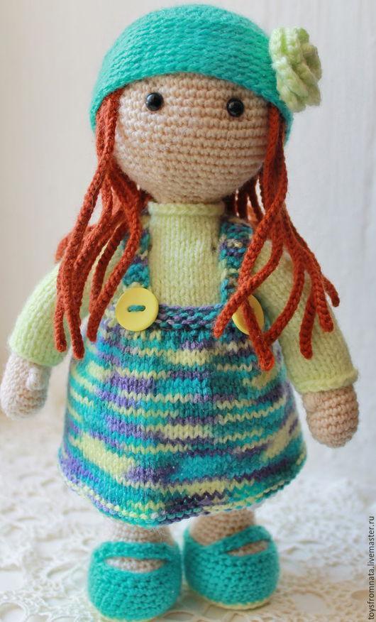 Человечки ручной работы. Ярмарка Мастеров - ручная работа. Купить Кэти. Handmade. Бежевый, кукла, кукла текстильная, куколка