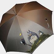 Аксессуары ручной работы. Ярмарка Мастеров - ручная работа зонт с Тоторо))). Handmade.