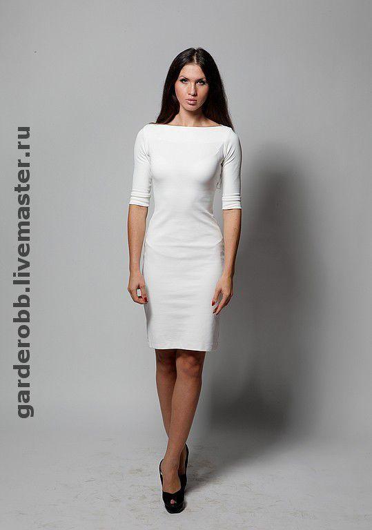 4f537c862a8 Платья ручной работы. Ярмарка Мастеров - ручная работа. Купить Платье-футляр  классика.