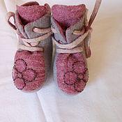 Обувь ручной работы. Ярмарка Мастеров - ручная работа Ботиночки для малышей. Handmade.