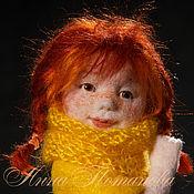 Куклы и игрушки ручной работы. Ярмарка Мастеров - ручная работа Дженни. Авторская войлочная кукла. Handmade.