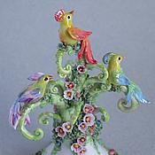 """Сувениры и подарки ручной работы. Ярмарка Мастеров - ручная работа Колокольчик """"Чудо-дерево"""". Handmade."""