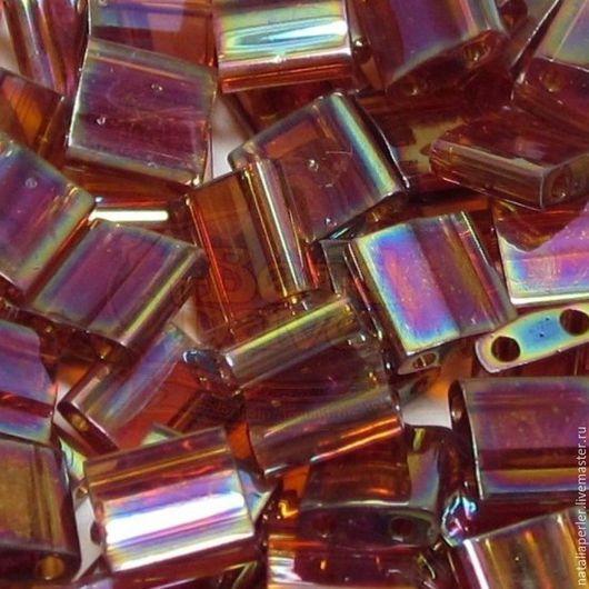 Для украшений ручной работы. Ярмарка Мастеров - ручная работа. Купить Миюки ТИЛА 257  transparent rainbow root beer 10гр. Handmade.