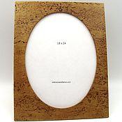 Сувениры и подарки manualidades. Livemaster - hecho a mano Marco de fotos de abedul de carelia 18 x 24. Handmade.