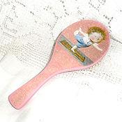 Сувениры и подарки handmade. Livemaster - original item Comb Swallow. Handmade.