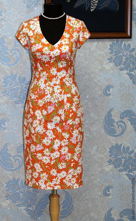 Платье футляр ретро