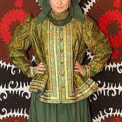 """Одежда ручной работы. Ярмарка Мастеров - ручная работа Русский народный женский костюм """"Северный с душегреей"""". Handmade."""