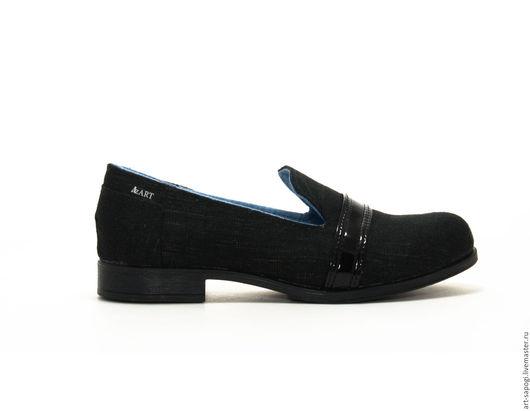 Обувь ручной работы. Ярмарка Мастеров - ручная работа. Купить Лоферы 9-311-03 (вч). Handmade. женская обувь