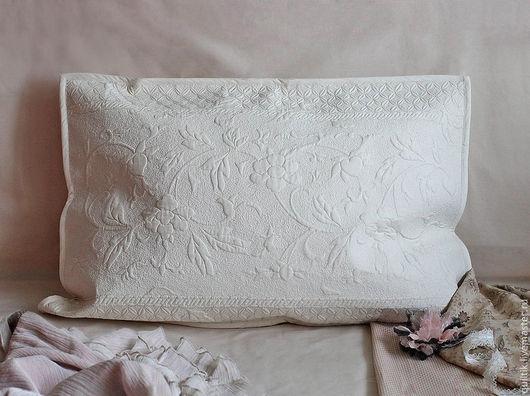Текстиль, ковры ручной работы. Ярмарка Мастеров - ручная работа. Купить Подушка для подружки. Handmade. Бежевый, лоскутная техника