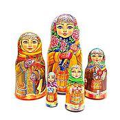 Русский стиль handmade. Livemaster - original item Amazing matryoshka nesting dolls, traditional style russian dolls. Handmade.