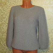 handmade. Livemaster - original item Sweater Angora