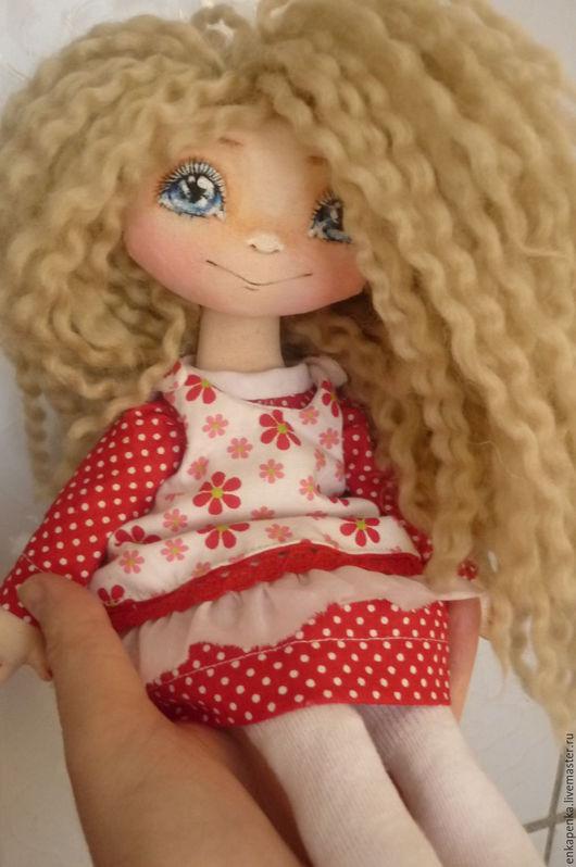 текстильная кукла, куклы елены пономаревой, enkapenka