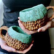 Посуда handmade. Livemaster - original item Custom-made mug