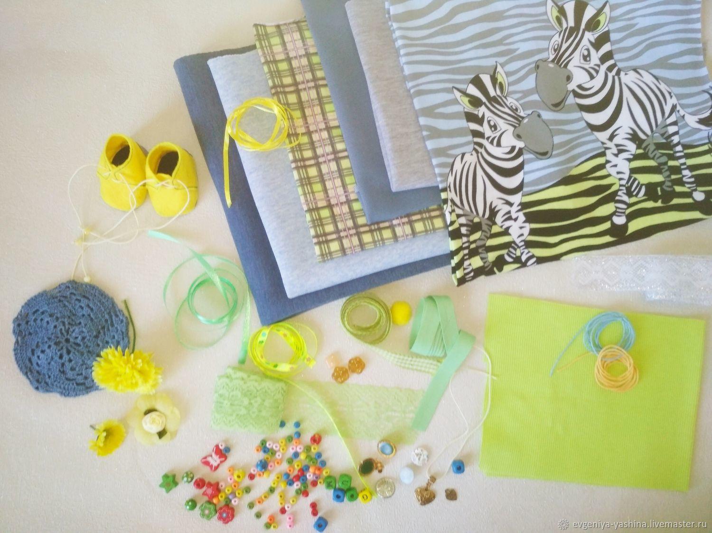 Набор для шитья одежды куклам, Куклы и игрушки, Волгоград, Фото №1