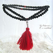 Фен-шуй и эзотерика handmade. Livemaster - original item Rosary of sandalwood black. Handmade.