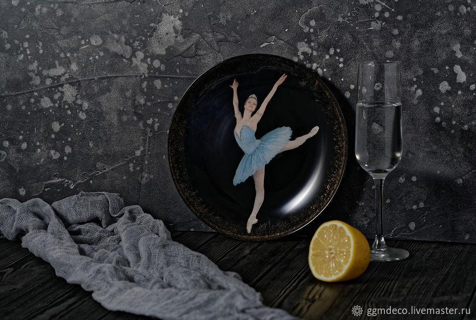 Декоративная посуда ручной работы. Ярмарка Мастеров - ручная работа. Купить Декоративная тарелка Балерина 2. Handmade. Классика, комбинированный