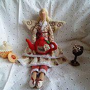Куклы и игрушки ручной работы. Ярмарка Мастеров - ручная работа Чайная фея, кукла в стиле Тильда. Handmade.