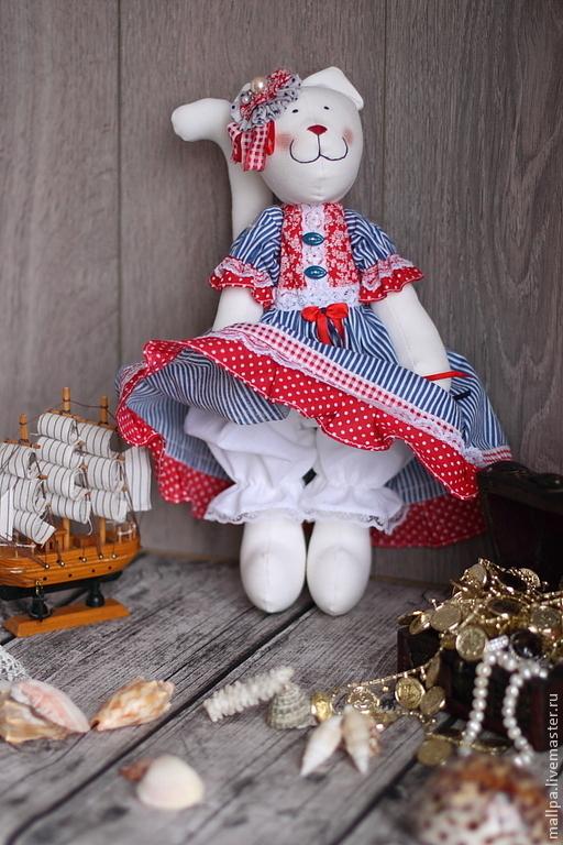 Куклы Тильды ручной работы. Ярмарка Мастеров - ручная работа. Купить Кошечка Капитолина. Handmade. Кошка, интерьер, интерьерная кукла