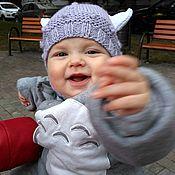 """Работы для детей, ручной работы. Ярмарка Мастеров - ручная работа Вязаная шапка """"Викинг"""". Handmade."""