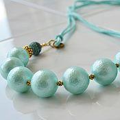 Украшения handmade. Livemaster - original item Necklace on cord Tiffany. Handmade.