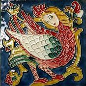 handmade. Livemaster - original item Bilibin tiles. Handmade.