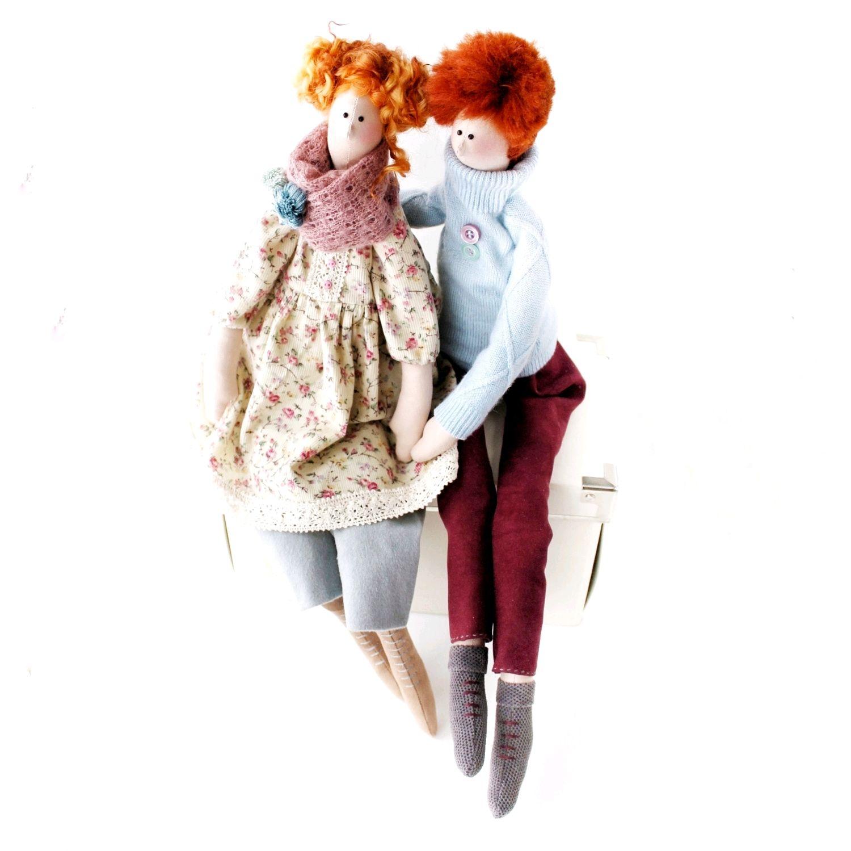 Я люблю тебя, родная, Куклы Тильда, Москва,  Фото №1
