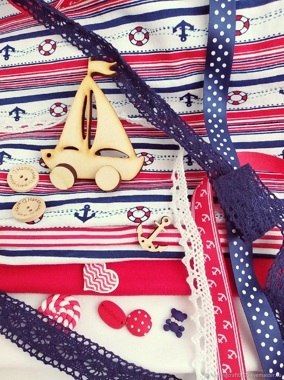 Набор для шитья куклы. Морской, Шитье, Санкт-Петербург, Фото №1