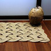 """Для дома и интерьера ручной работы. Ярмарка Мастеров - ручная работа Коврик """"Плетея"""". Handmade."""