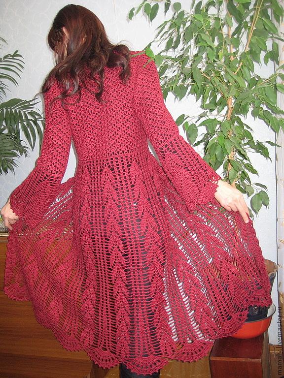 фото женское ажурное пальто карьере бесконечно