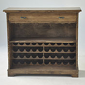 Для дома и интерьера handmade. Livemaster - original item Cupboard for wine and glasses.. Handmade.