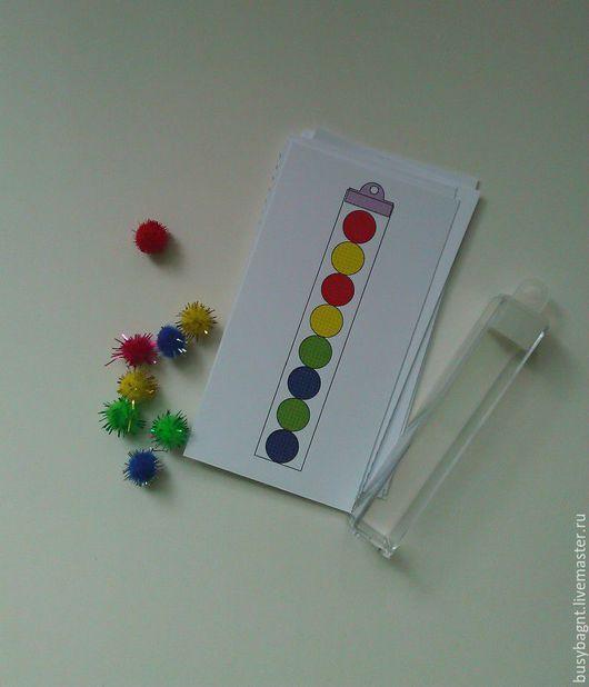 Развивающие игрушки ручной работы. Ярмарка Мастеров - ручная работа. Купить Наполни колбу Развивающая игра. Handmade. Развивающая игрушка