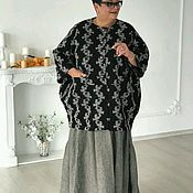 Одежда ручной работы. Ярмарка Мастеров - ручная работа Пальто с узором. Handmade.