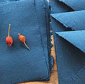 """Канцелярские товары ручной работы. Ярмарка Мастеров - ручная работа """"Indigo""""- бумага  и конверты ручной работы. Handmade."""