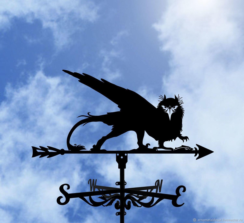A weathervane on the roof 'Griffin', Vane, Ivanovo,  Фото №1