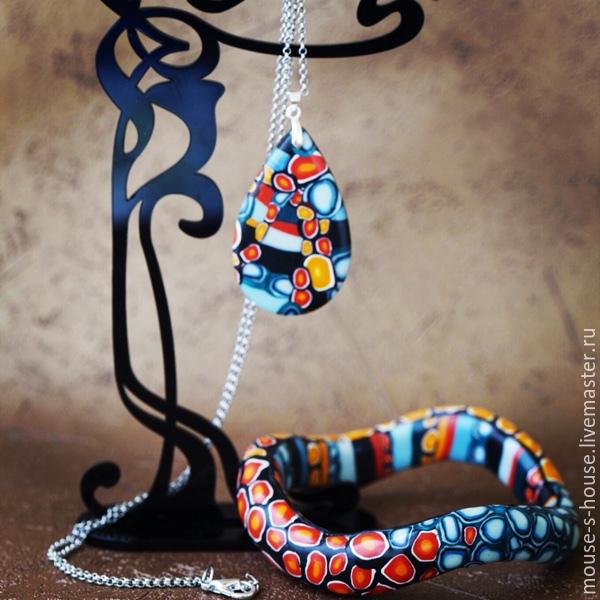 A set of bracelet and pendant, Jewelry Sets, Kolomna,  Фото №1