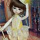 Комплект для куклы БЖД формата тини.  Модель- Vivian Doll Chateau.