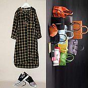 Одежда ручной работы. Ярмарка Мастеров - ручная работа платье -рубашка. Handmade.