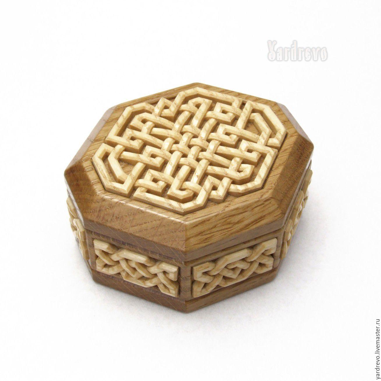 Шкатулка восьмиугольная, Шкатулки, Шуя, Фото №1