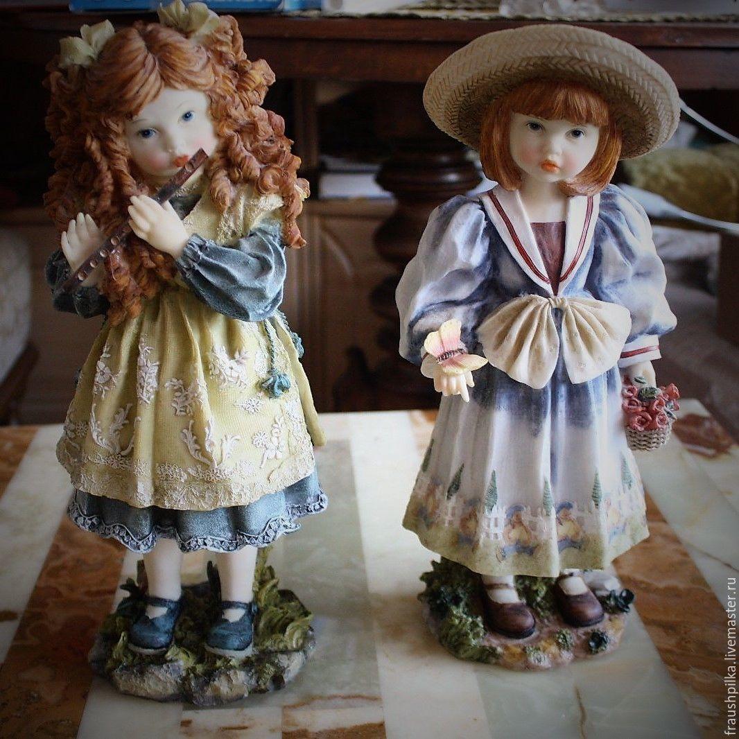 Винтаж: 2 Винтажные куклы Пастораль. В реставрацию, Реставрация, Кемптен, Фото №1