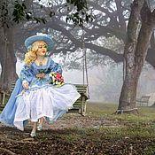 Куклы и пупсы ручной работы. Ярмарка Мастеров - ручная работа Интерьерная кукла Виолетта. Handmade.