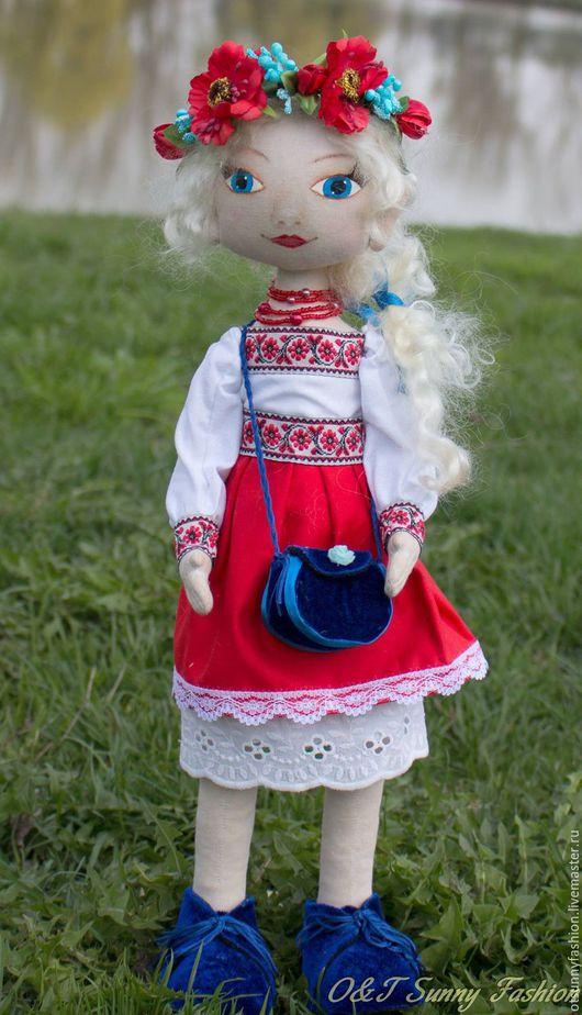 Коллекционные куклы ручной работы. Ярмарка Мастеров - ручная работа. Купить Кукла Вера. Handmade. Кукла ручной работы, хлопок